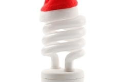 Simple ways to curb energy use during the holidays.